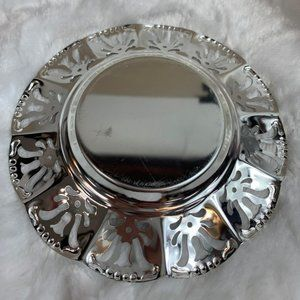 Silverplated Brass Tray